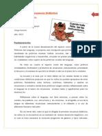 Plani Practica Lenguaj 21 Observaciones