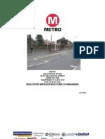 Bus Stop Standards Metro
