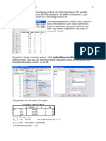 SPSS Logistic Regression