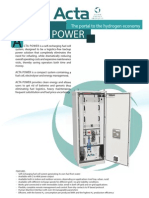 Acta Power Datasheet