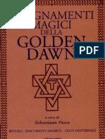 130913971 AA VV Insegnamenti Magici Della Golden Dawn Vol I