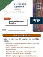 HRM10eChap16- Employee Rihgts and Discipline