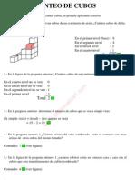 5_conteo Visual de Cubos Razonamiento Matematico de Primaria