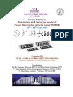 PSPICE Workshop