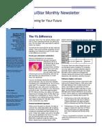EquiStar Wealth Management Newsletter - 4/09
