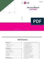 LG P500H Service Manual