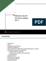 Medicion de pH