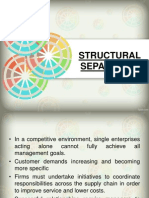 Structural Separation