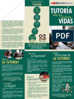 Triptico Tutoria Labor Que Transforma Vidas