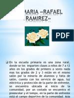 PRIMARIA «RAFAEL RAMIREZ»
