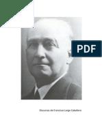 Discursos de Francisco Largo Caballero