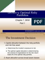 Financial Economics Bocconi Lecture5