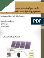 Design and Development of Portable Solar Power Packs2-Pre-final