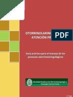 Otorrinolaringología en Atención Primaria. 2012