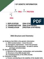 Lec 8 Genetics