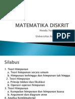 Silabus Matematika Diskrit