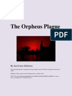Extract from 'The Orpheus Plague' by Ian Irvine (Hobson)