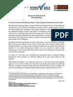 11th Ateneo FactCheck 2013 Project Brief