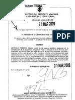 Decreto 1060 31-03-09 Objeto Social Persona Juridica Propiedad Horiz. (PH).
