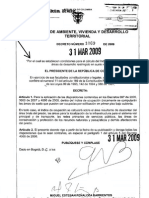 Decreto 1069 31-03-09 Indice Ocupacion en Suelo Rural