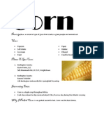 Corn BM