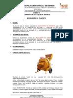 anexo 02 TÉRMINOS DE REFERENCIA - mezcladora