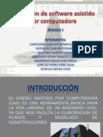 Aplicación de software asistido por computadora
