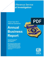 IRS Criminal Investigation Annual Report