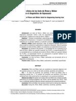 Importancia Rinne y Weber en El Dg de Hipoacusia 2009