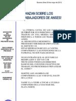 UDAT Mar Del Plata - Comunicado Delegado