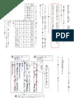 指導資料2012① 文章要約(あらすじづくり)の手引き(小学生)
