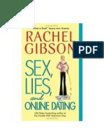 Gibson Rachel - Escritoras 01 - Sex Lies and Online Dating