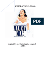 Mamma Mia! the Musical Script