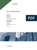 Secure Design Patterns - 09tr010