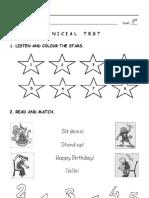 Inicial Test 1º