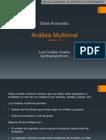 Analisis Multinivel - STATA