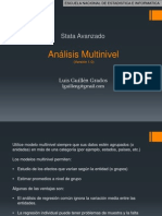 Analisis Multinivel - STATA