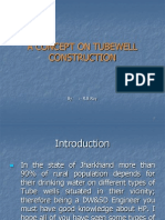 Types of Tube Wells & its construction