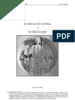 El Medallon Central de Notre Dame de Paris (Critica a Fulcanelli)