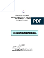 ELCS Lab Manual 2010-11