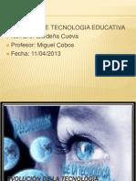 actividad 2.2 tecnologia educativa Gardeña Cueva