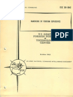Handbook of Foreign Explosives