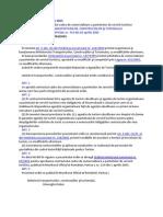 ORDIN Nr. 516 Din 12 Aprilie 2005 Pentru Aprobarea Contractului-cadru de Comercializare a Pachetelor de Servicii Turistice