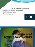 Actividad 2.2 Tecnologia Educativa Ana Cueva
