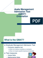 Official GMAT Orientation