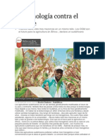 Biotecnología contra el hambre