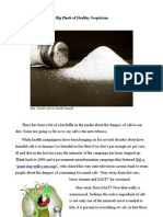 Is Salt As Serious A Health Risk As We Are Told, Or Is Corporate Profit Behind The Scaremongering.