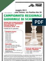 12 Maggio - Campionato Reg. Giovanile