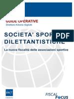 Guida Societa Sportive Dilettantistiche