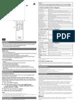BD Remote Manual En